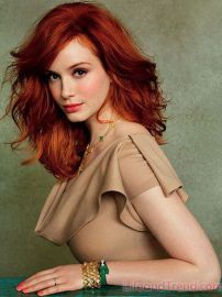 Curvy, red-haired Christina Hendricks is how I picture Michelle. She is a strong and ambitious woman, struggling to control her wild fantasies.